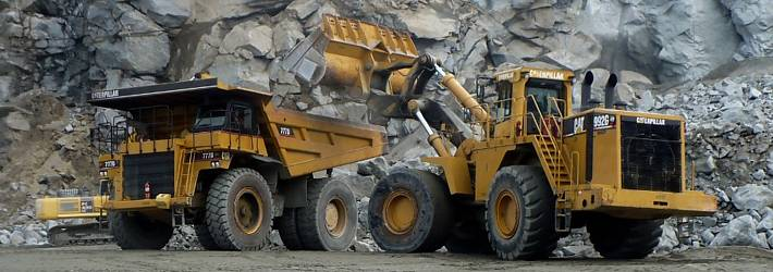 Supply of equipment, machinery and parts related to rock size reduction